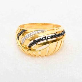 - 22 Ayar Taşlı Altın Fantezi Yüzük | Mücevher Dünyası
