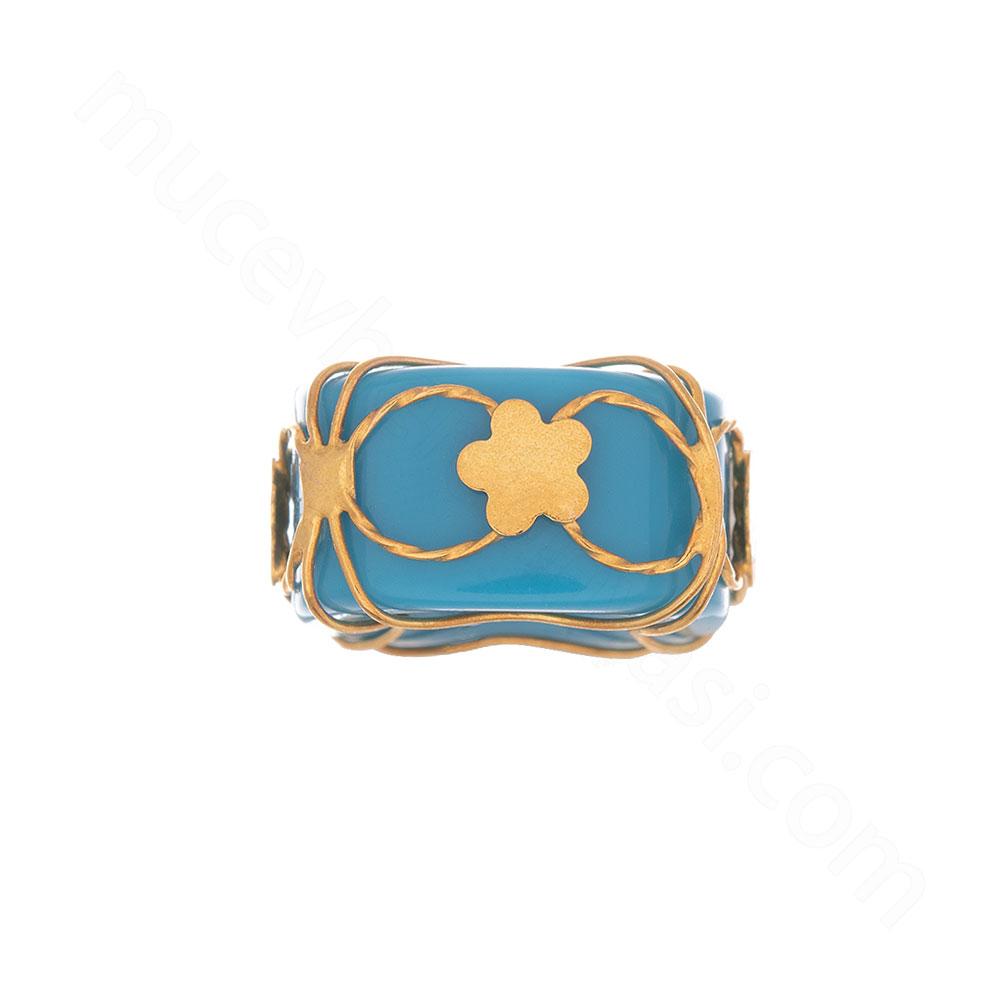 Mücevher Dünyası - 22 Ayar Taşlı Çiçekli Altın Kolye Ucu - 0,59 Gr.