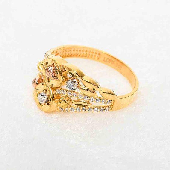 22 Ayar Taşlı Dorika Altın Fantezi Yüzük | Mücevher Dünyası
