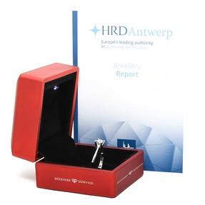 HRD Sertifikalı 0,23 Karat Tektaş Pırlanta - Thumbnail