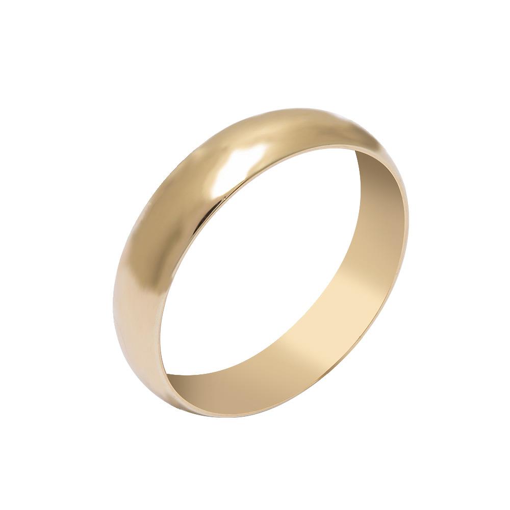 Mücevher Dünyası - 14 Ayar Klasik Altın Alyans (Erkek)