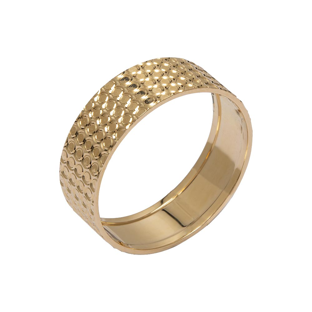 Mücevher Dünyası - 14 Ayar Petek Altın Alyans (Kadın)