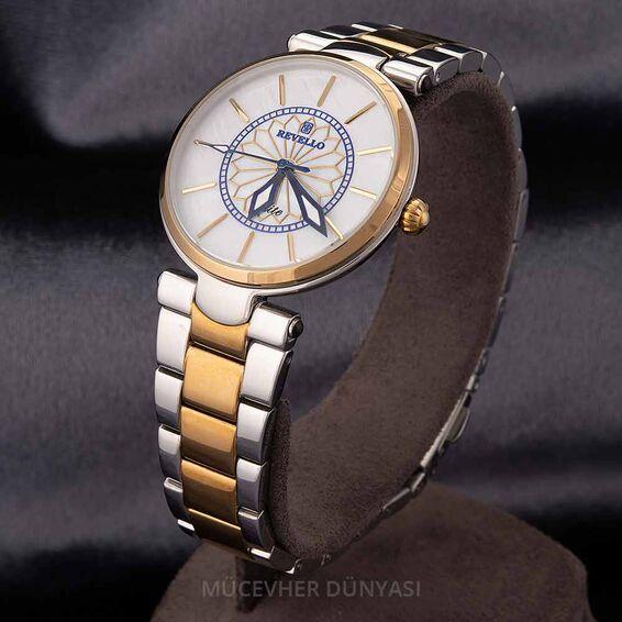Mücevher Dünyası - Revello Metal Kordonlu Kadın Kol Saati 80043195